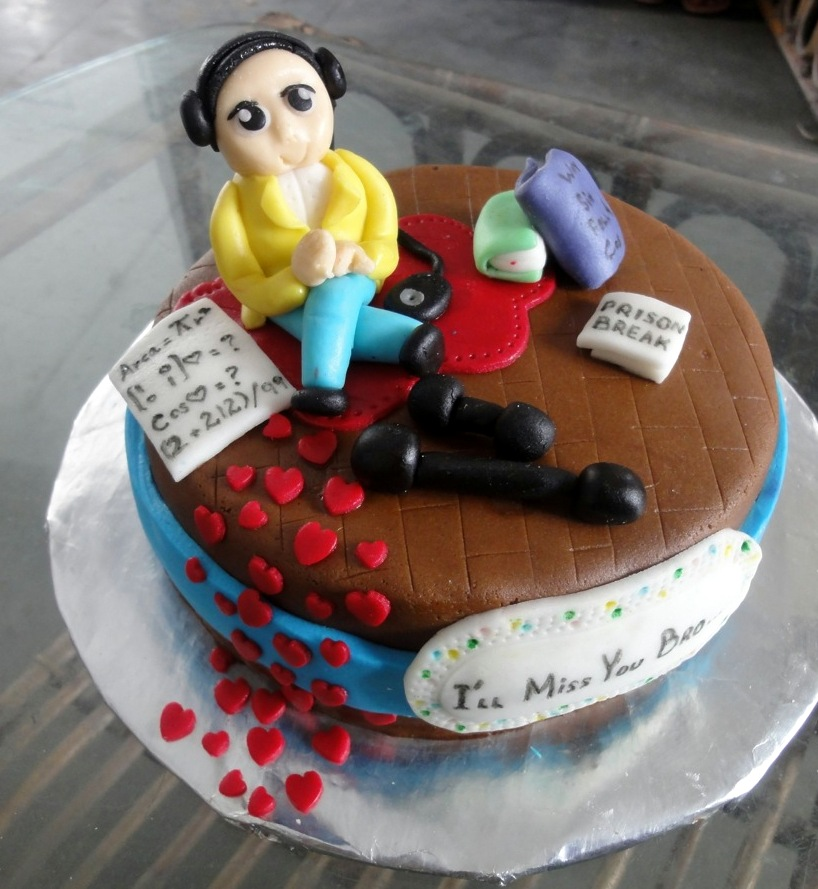 Photos Of Cake For Brother : 3D Best Brother s Cake Cakes.pk