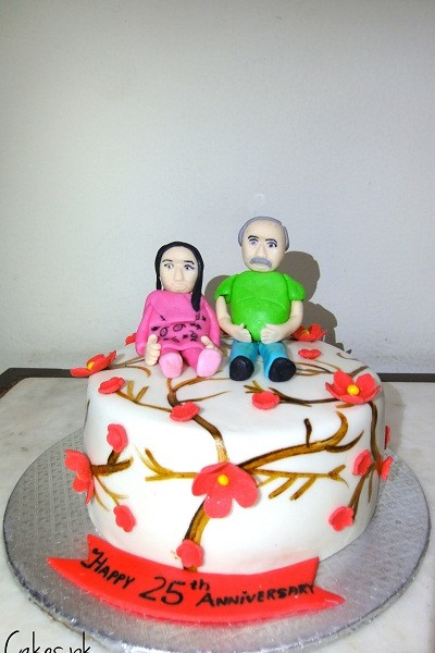 Cake Ideas For Parents Anniversary : Anniversary Cake For Parents Cakes.pk