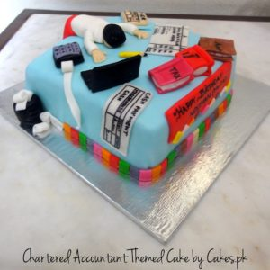 CA themed cake
