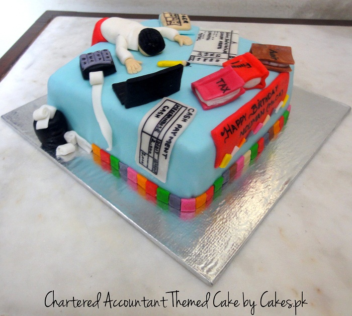 Special Cake for Chartered Accountant | Cakes.pk