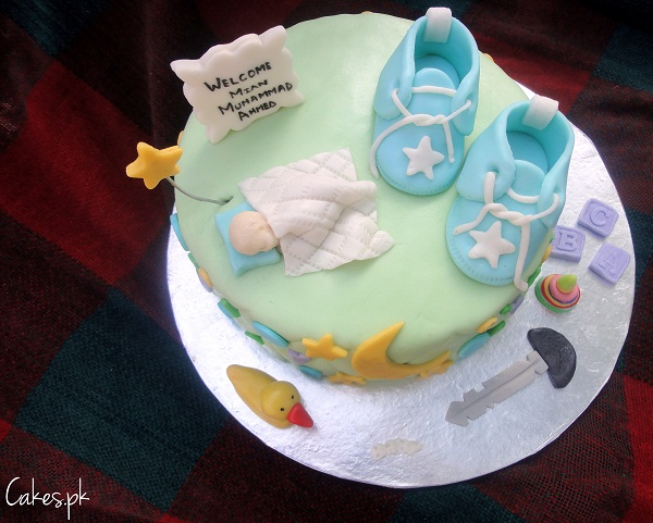 Baby Welcome Cake Images : Welcome Baby Cake Cakes.pk