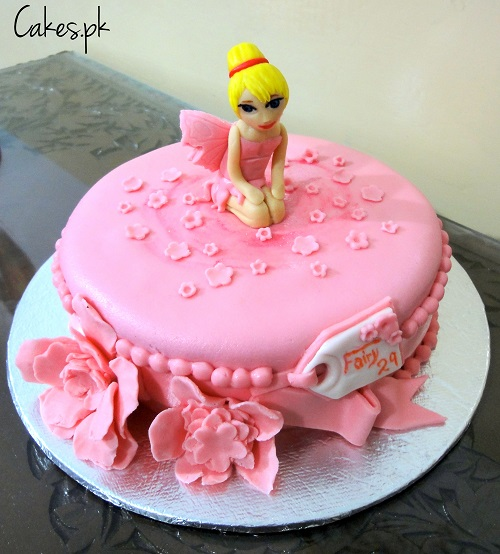 how to make a fairy birthday cake