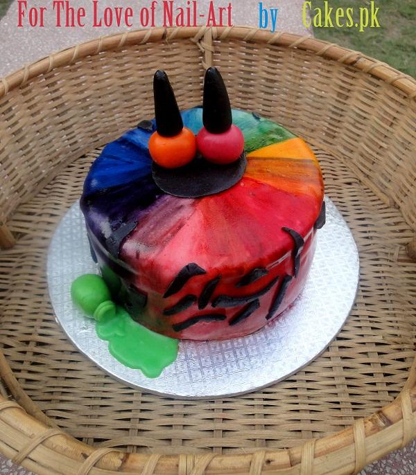 Because We Love Nail Art Cakes