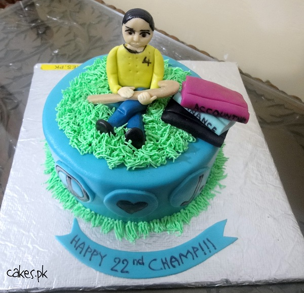 Magnificent Field Hockey Themed Cake Cakes Pk Funny Birthday Cards Online Benoljebrpdamsfinfo