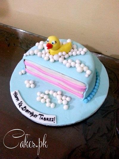 Enjoyable Half Birthday Cake Cakes Pk Personalised Birthday Cards Paralily Jamesorg